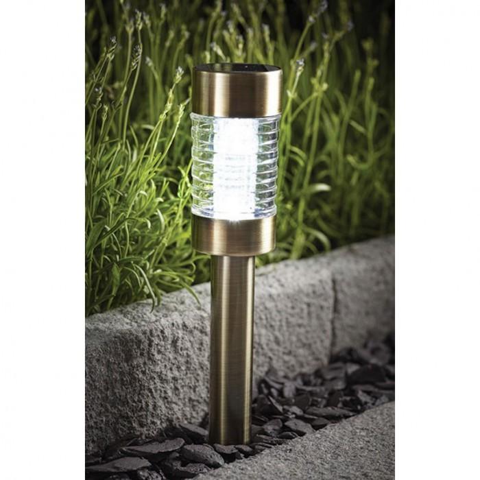 Соларна LED лампа SS-6031 неръждаема стомана