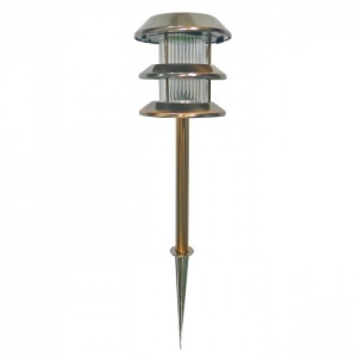Соларна LED лампа за градина / бронз