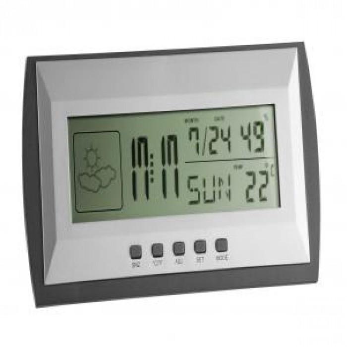 Стайна метеорологична станция 0 до +50°С 20 до 99% 180x38x90мм
