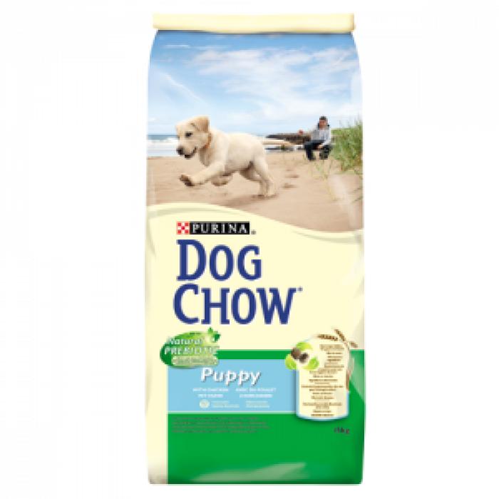 Суха храна за кученца DOG CHOW PUPPY с пиле 15 кг.