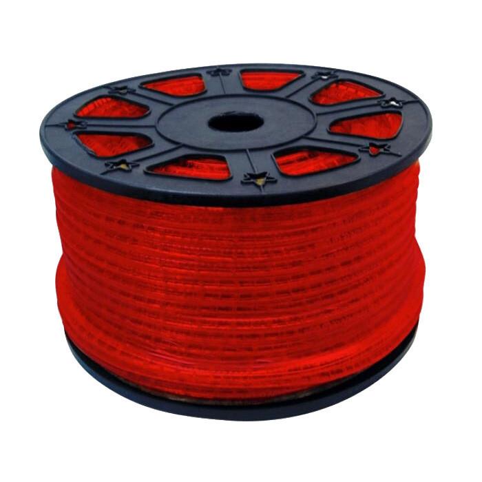 Светещ кабел 13 мм / червен