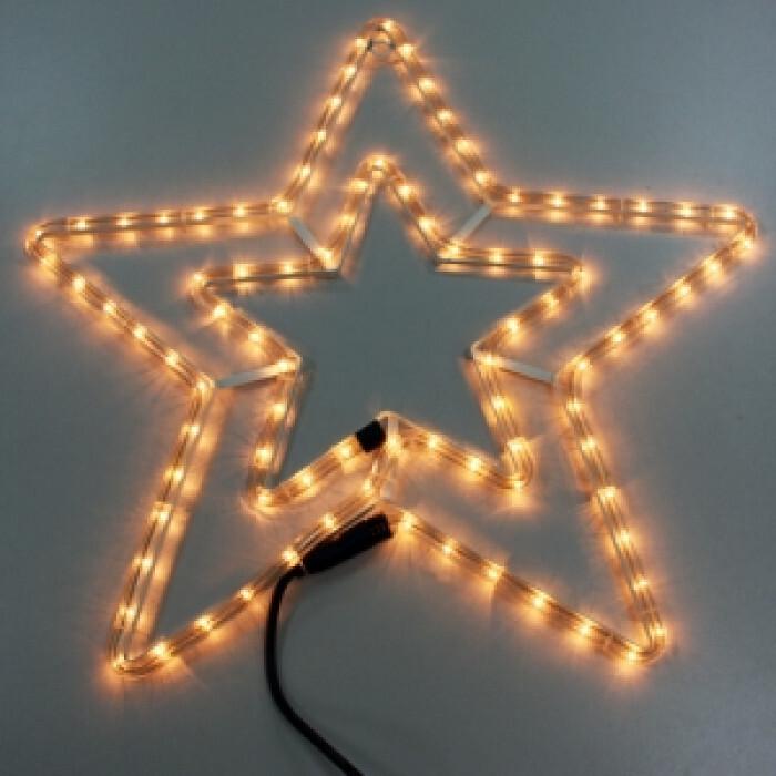Светеща звезда - 55х55 см