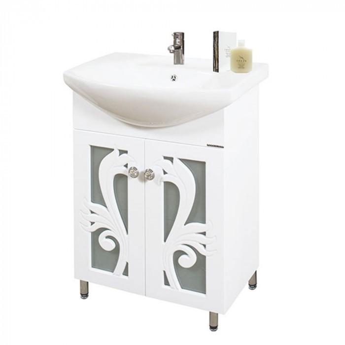 Долен PVC шкаф за баня с умивалник Макена Торино