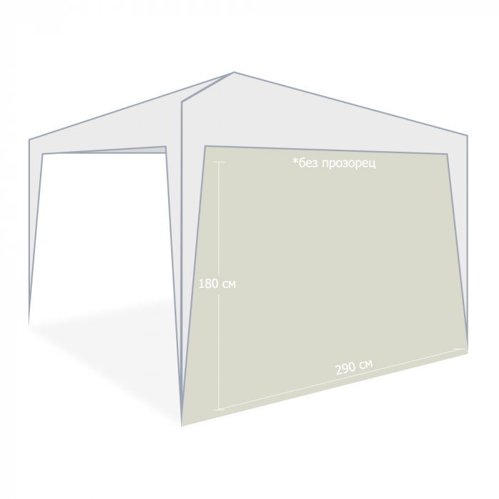 Страница за шатра My Garden TLC023-A / Taupe / без прозорец