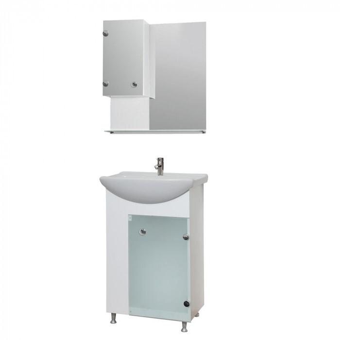 Горен шкаф за баня Макена Трио