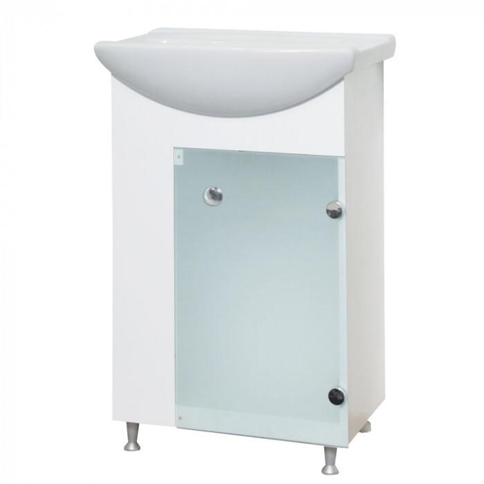Долен шкаф за баня с умивалник Макена Трио