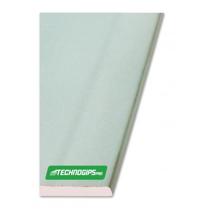 Влагоустойчиви гипсокартонени плоскости Техногипс Про тип H - 1200х3000х12,5mm
