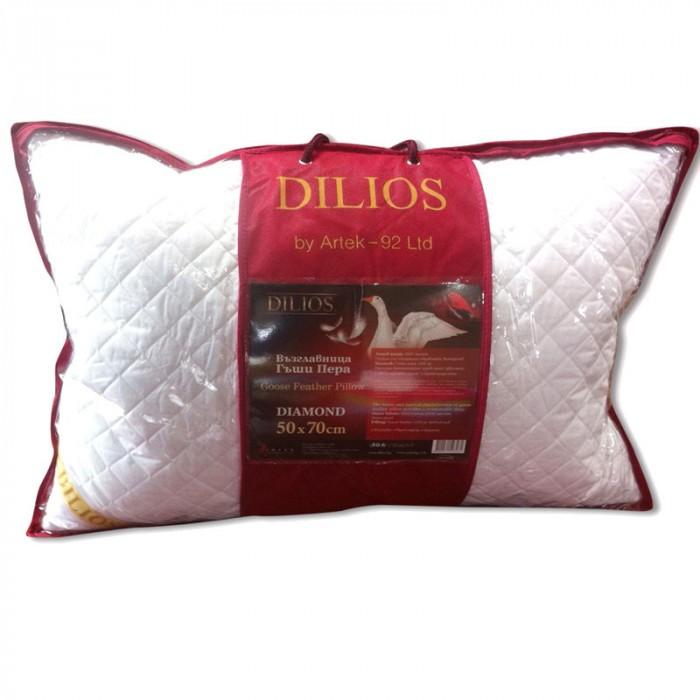 Възглавница с гъши пера Diamond 50х70см
