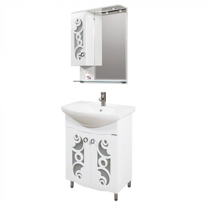 Долен шкаф за баня с мивка Макена Вирджиния
