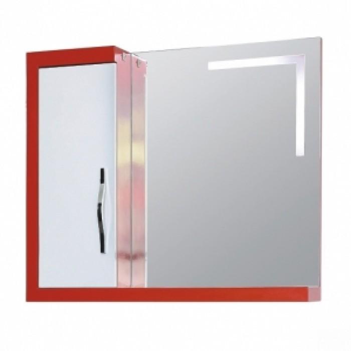 Водоустойчив PVC шкаф с огледало №128