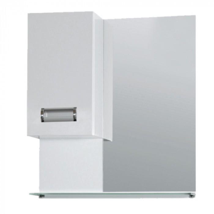 Горен PVC шкаф за баня с огледало Макена Яна 55х60x15см